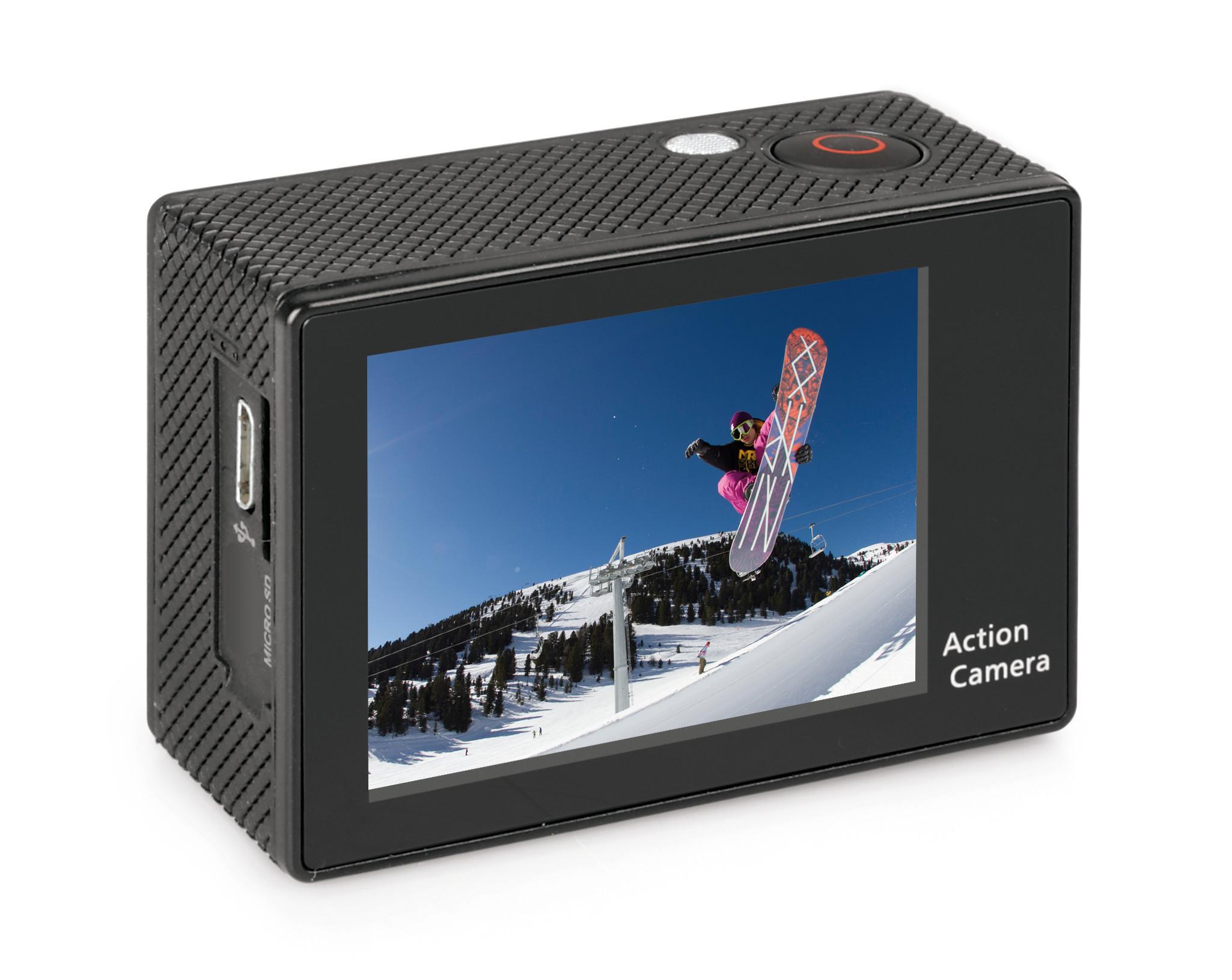 prezzo onesto vari colori miglior servizio Action-Cam 1, telecamera per sport 720p + Kit accessori