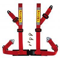 Cintura di sicurezza sportiva E2 Rosso