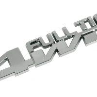 Emblema 3D cromato Full Time 4WD