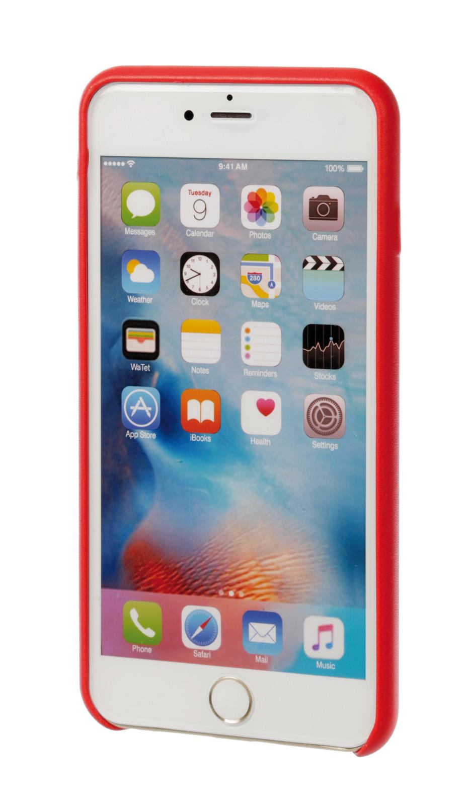 design di qualità e0c87 377f2 Skin, cover in similpelle - Apple iPhone 6 Plus / 6s Plus - Rosso